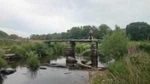 One of Dartmoor's many 'Clapper' bridges