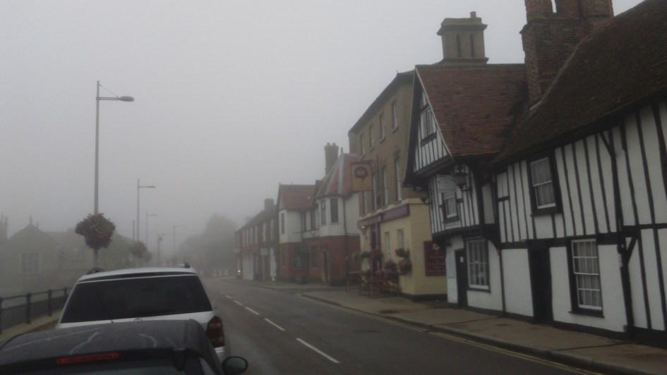 Godmanchester in the mist