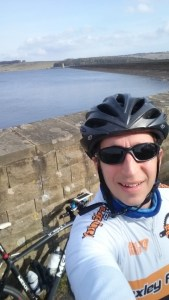 Ready to head off from Derwent Reservoir