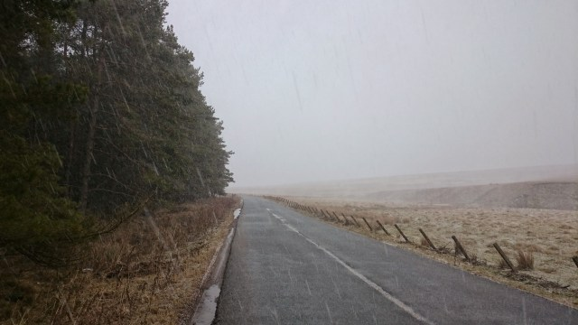 Keep warm in the wintry conditions