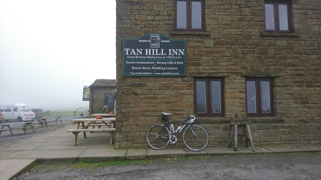 Outside Tan Hill Inn