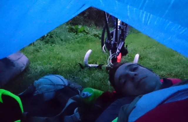 Nice and sung in my bivvy