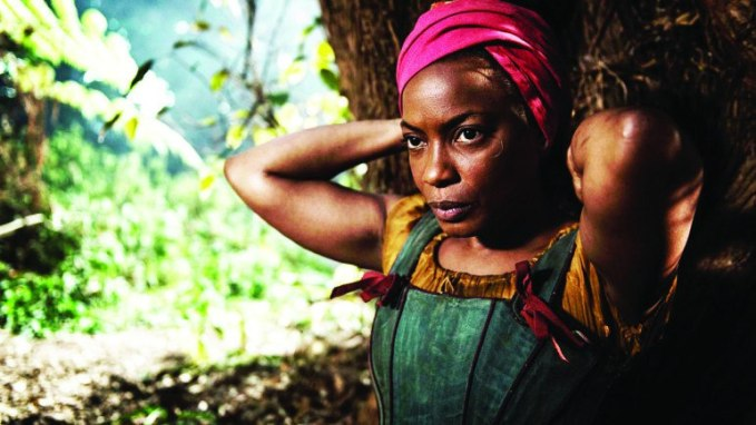 Aunjanue Ellis in The Book of Negroes