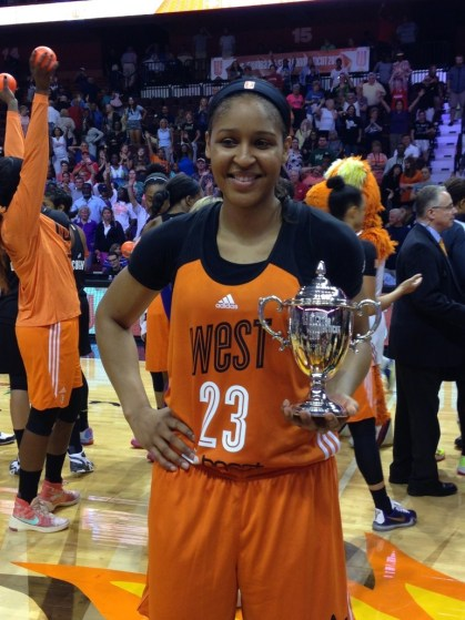 All -Star MVP Maya Moore