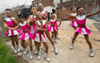 Young dancers were on hand to honor Prince