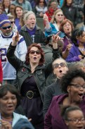 Prince fans celebrated the legacy of the late local legend.