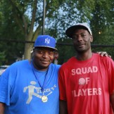 League Co-Directors Londell Anderson and Tyrone Johnson