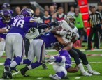 Adrian Peterson being tackled