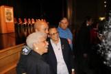 (l-r) Dr. Josie Johnson, Chief Arradondo, Debbie Montgemery and Clyde Bellecourt