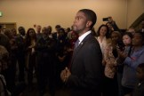 St. Paul Mayor-Elect Melvin Carter III giving a victory speech.
