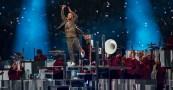 Justin Timberlake performs at Super Bowl 52