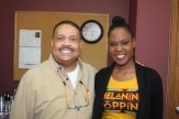 ​(l-r)​ MSR contributing columnist Dr. Charles Crutchfield, III and Monisha Washington
