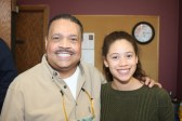 ​(l-r)​ MSR contributing columnist Dr. Charles Crutchfield, III and daugther Olivia Crutchfield, a contributing photographer