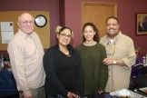 ​(l-r)​ Jerry Freeman, Alice, Olivia Crutchfield and Dr. Charles Crutchfield, III