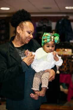 Josephine Castle with granddaughter Assata