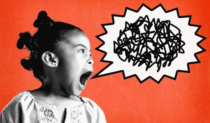 Shouting Girl Composite