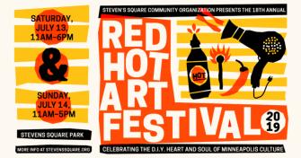 Red Hot Art Festival 2019 @ Stevens Square Park
