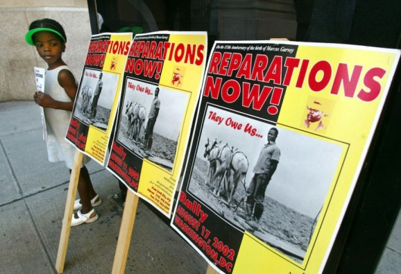 Reparations  now