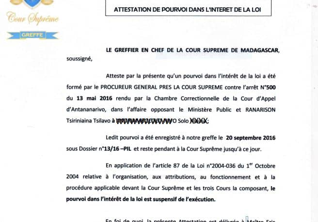 La Cour Suprme De Madagascar Donne Raison  Solo Dans Sa Requte En