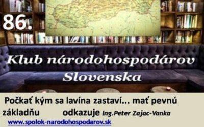 Slovensko 2021: Počkať kým sa lavína zastaví… mať pevnú základňu a udržať sa na nohách