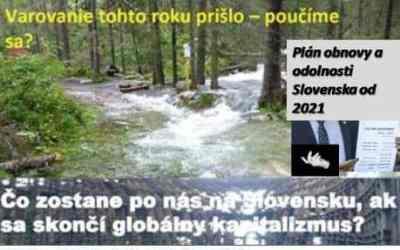 Posledné varovanie: Vládny Plán obnovy a odolnosti 2021-2027