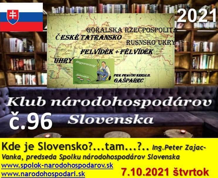 Peter Zajac-Vanka: Tak tu už ide o podstatu nielen slovenskej zeme