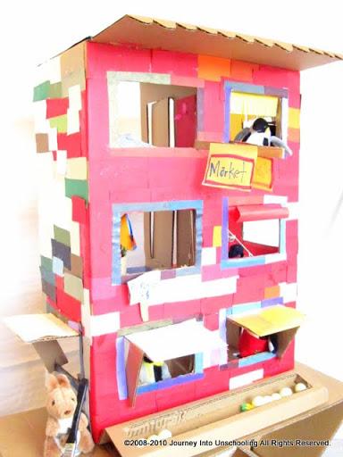 30 Creative Diy Cardboard Playhouse Ideas