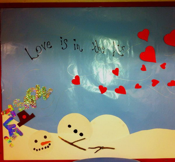 Creative Valentines Day Bulletin Board Ideas