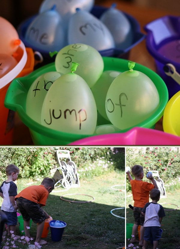 Fun Summer Games Outside