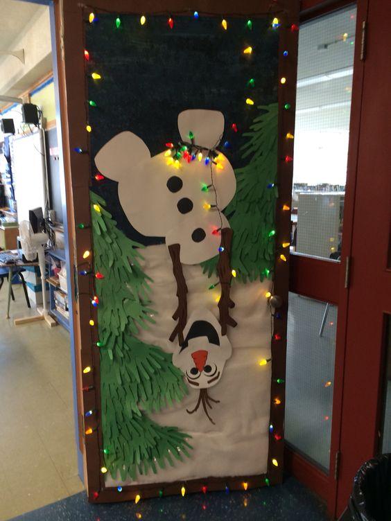 Olaf Classroom Door Decoration Novocom Top
