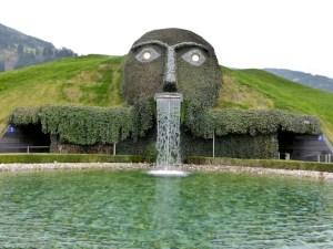Hall-Wattens Kristallwelten Riese Teich