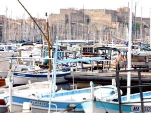 Kreuzfahrt MSC Splendida Marseille Hafen Mastenwald (1)