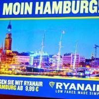 Ryanairs Winterflugplan 2017/2018 für Hamburg