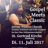 Grammy nominierter Chor aus den USA live in Hamburg