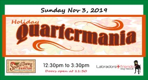 Quartermania with Labradors and Friends