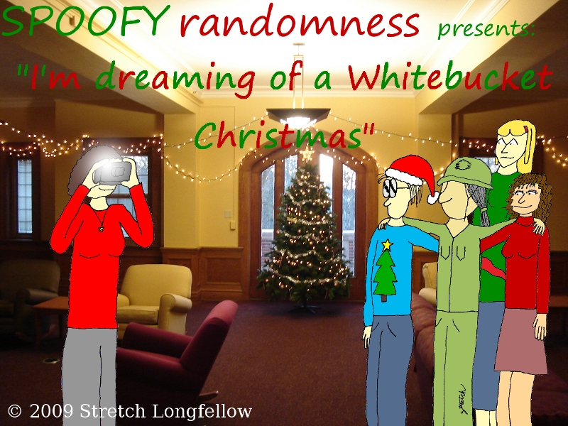 I'm Dreaming Of A Whitebucket Christmas