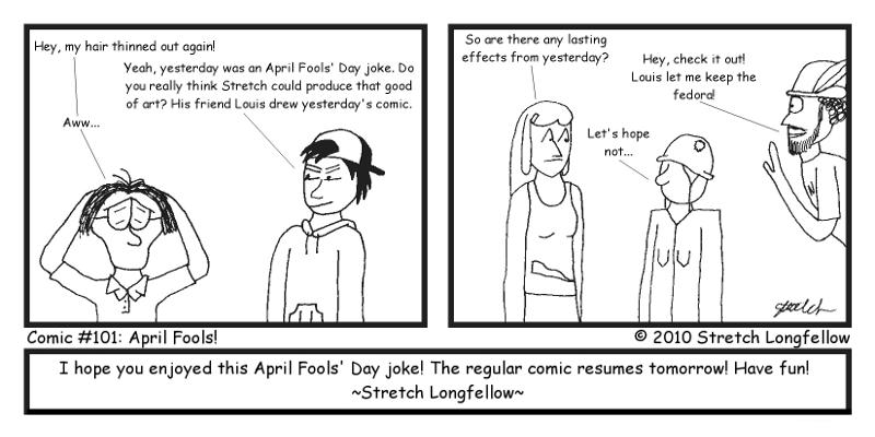 Comic #101: April Fools'