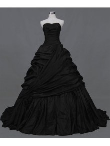 black-ball-gown-gothic-wedding-dress