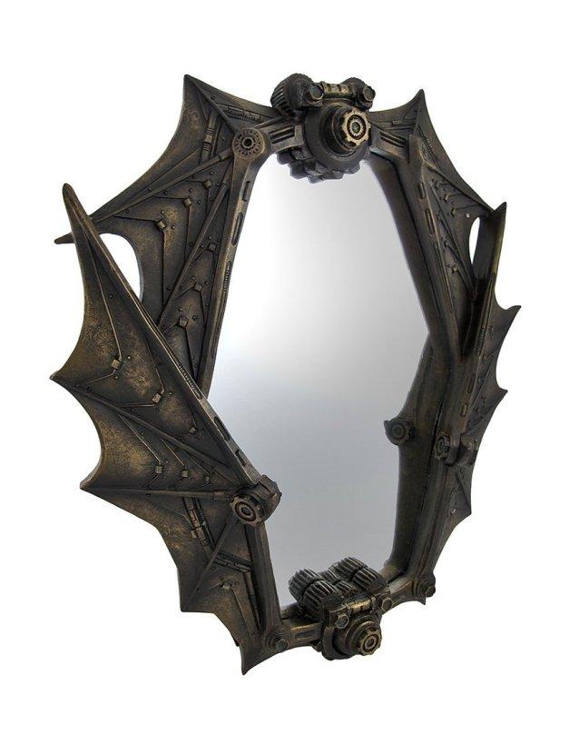 Things2die4 Bat Wing Mirror