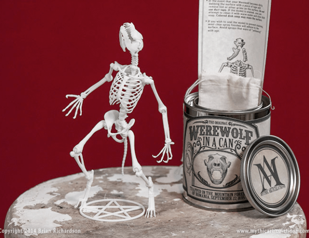 Werewolf in a Can, and other amazing things from Mythic Articulations