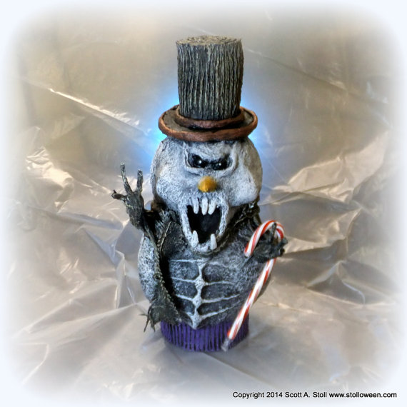 Twisted Snowmen by Scott Stoll are available on his Etsy site.