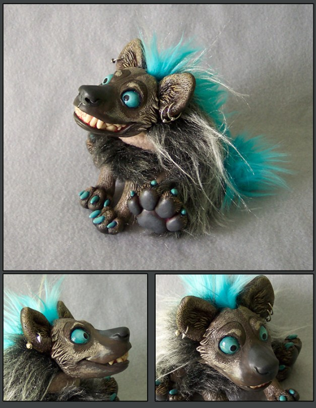 Hyena Doll Commission