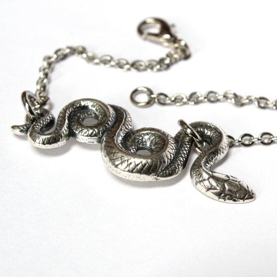 Garden snake bracelet