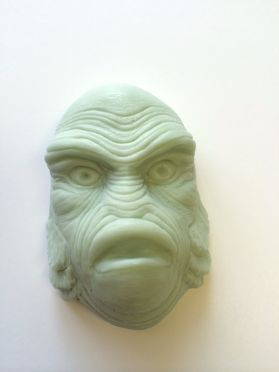 Monster Soaps from Bastian's Boutique. Via Halloween Shopaholic