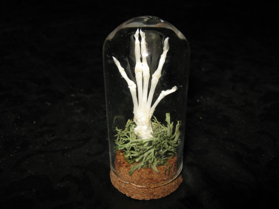 Tiny Zombie Hand by Macabre Genius