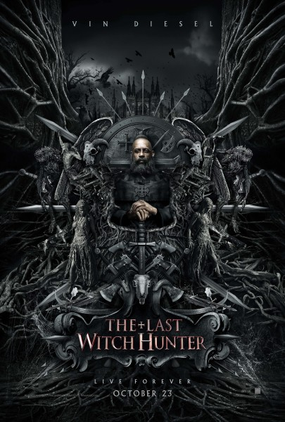 The Last Witch Hunter posters are ah-may-zing.