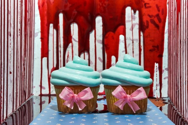 The Shining inspired food by Davide Luciano and Claudia Ficca