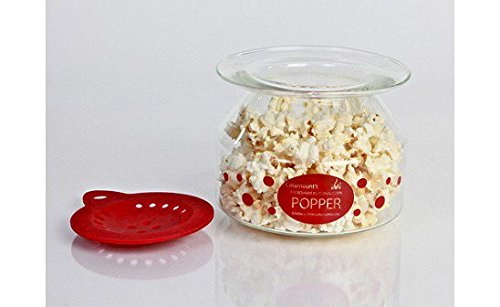 glass microwave popcorn popper for the