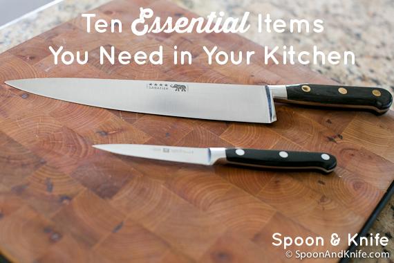 Ten Kitchen Essentials