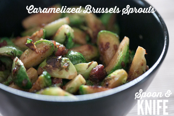 Caramelized Brussels Sprouts with Bacon Recipe